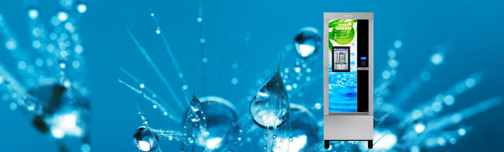 Distributori automatici per acqua